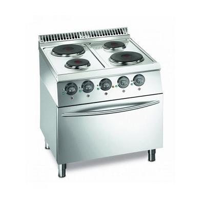 cuisinière avec four à gaz ou électrique eurofred