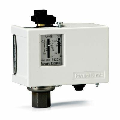 Pressostats de réglage pour pressions B12CN FAN04210