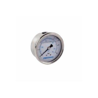 MANOMÈTRE GLYCÉRINE INOX AXIAL ROS65002 PRECIMAN