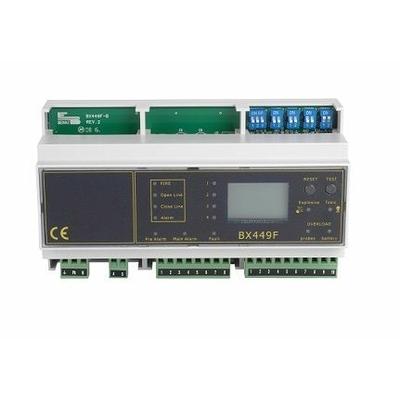 Centrale de détection gaz rail DIN 16 sondes DTK08018