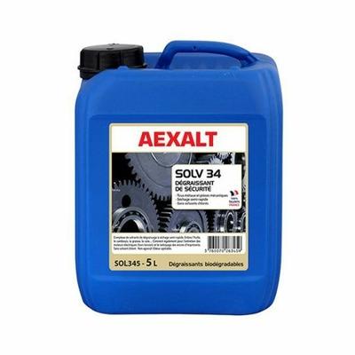 SOL345 Dégraissant de sécurité tous métaux et pièces mécaniques aexalt