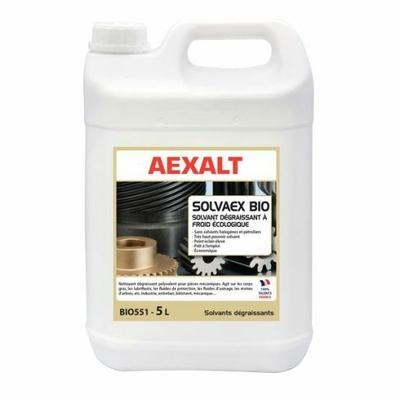 BIO551 Dégraissant à froid d'origine naturelle sans solvants halogènes ni pétroliers solvaex bio aexalt