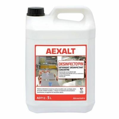 AD712 Nettoyant sol désinfectant parfumé aexalt