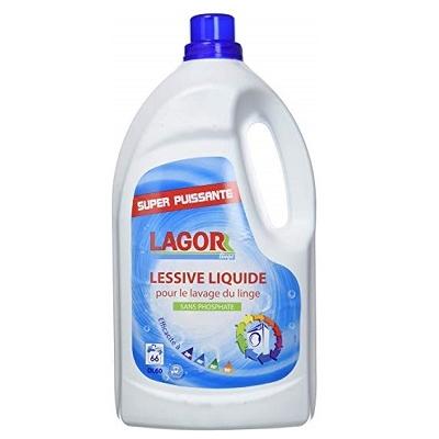 LAGOR Lessive linge Liquide Tous textiles pressing blanchisserie