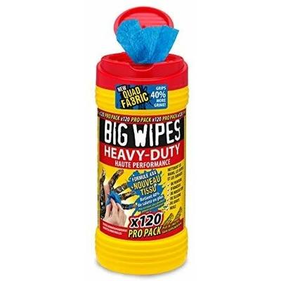 lingettes big wipes heavy duty boîte 120