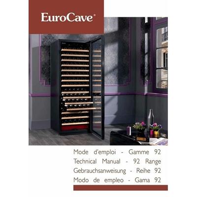 MANUEL d'utilisation notice mode d'emploi eurocave