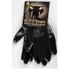 Paire de gants nylon / nitrile taille L à XL - Black Mamba