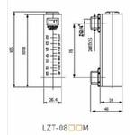 Débitmètre eau LZT 0802M FLO05002 MBLD