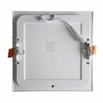 Plafonnier encastrable LED Plat V-TAC BLANC Carré 6W VT-607