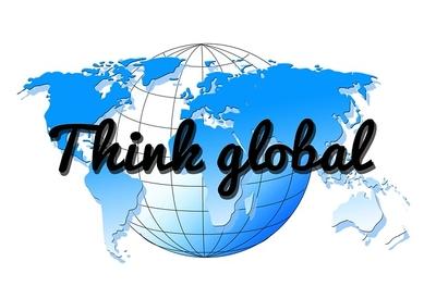 think global RVB