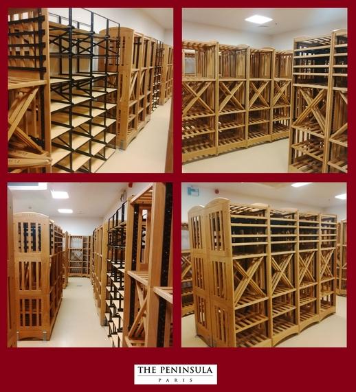 péninsula de Paris chambre froide cave à vin