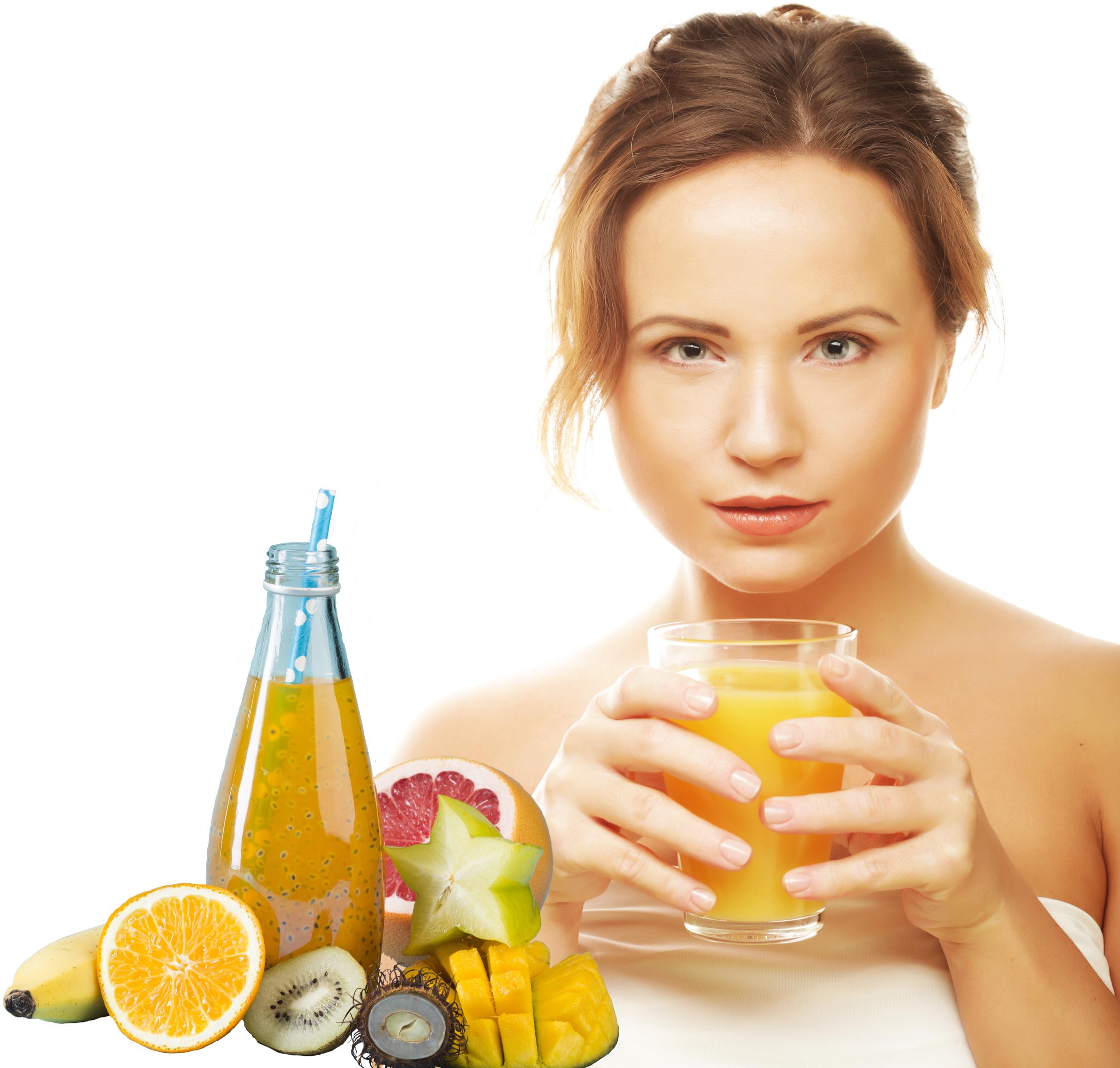 woman-isolated-shot-drinking-orange-juice