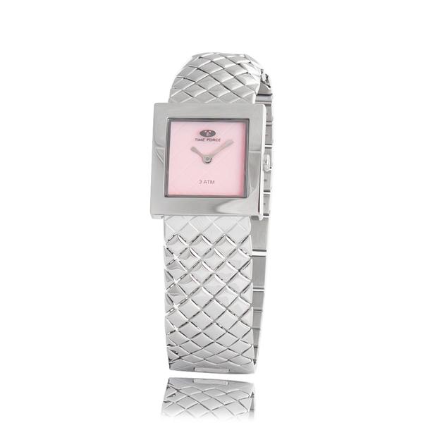 Montre Femme Acier Time Force cadran rose