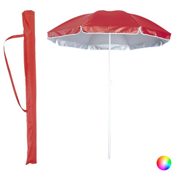 Parasol bicolore diamètre 150 cm avec étui en 6 couleurs