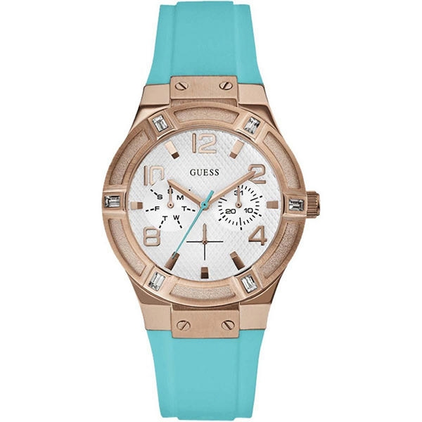 Montre Femme GUESS bracelet bleu tendance