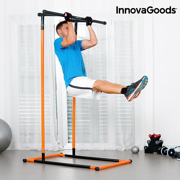 Station de Tractions et Fitness avec Guide d\'exercices