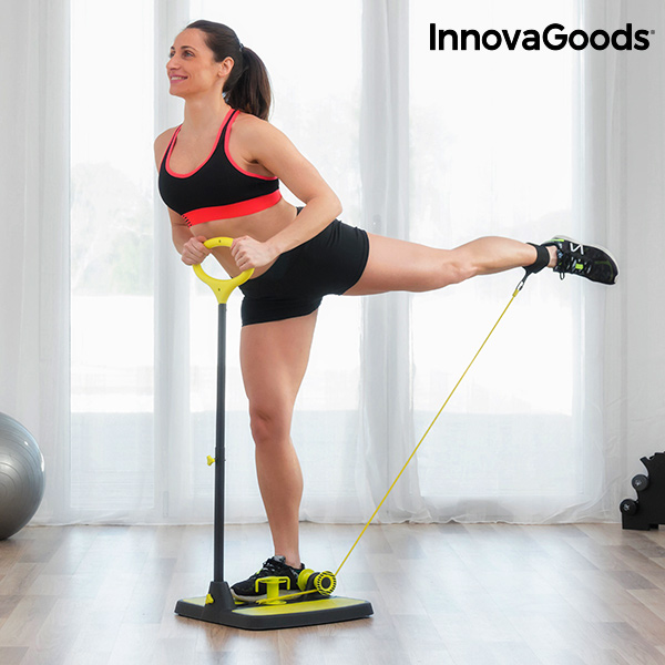 Plateforme de Fitness pour Fessiers et Jambes avec Guide d\'Exercices