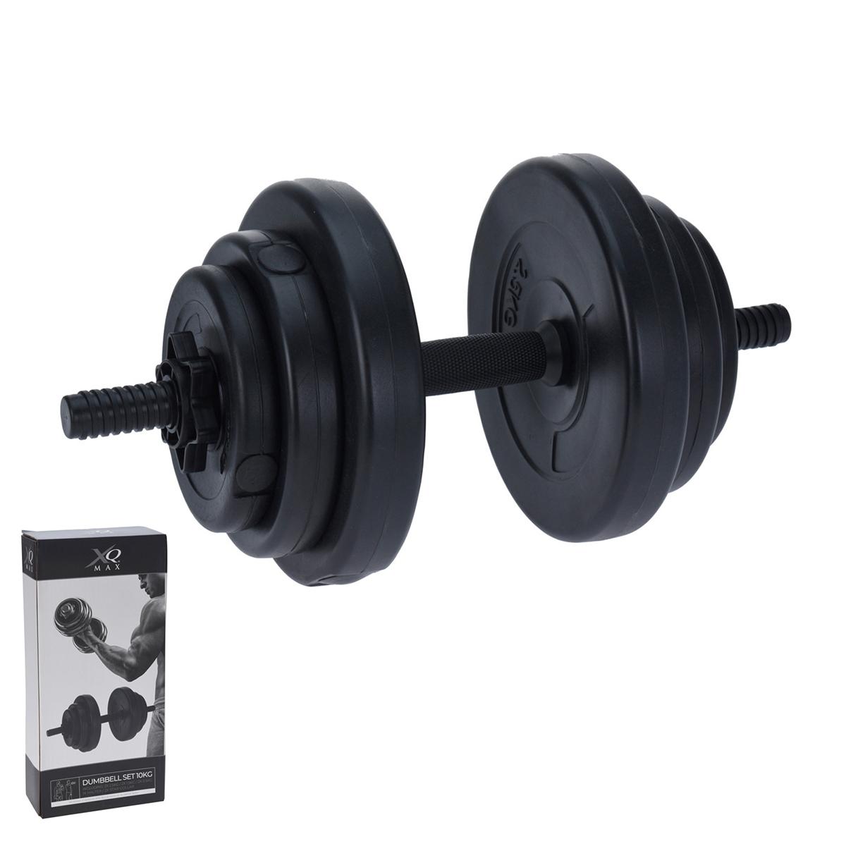 Haltères Fitness 10 Kg composés de 9 pièces