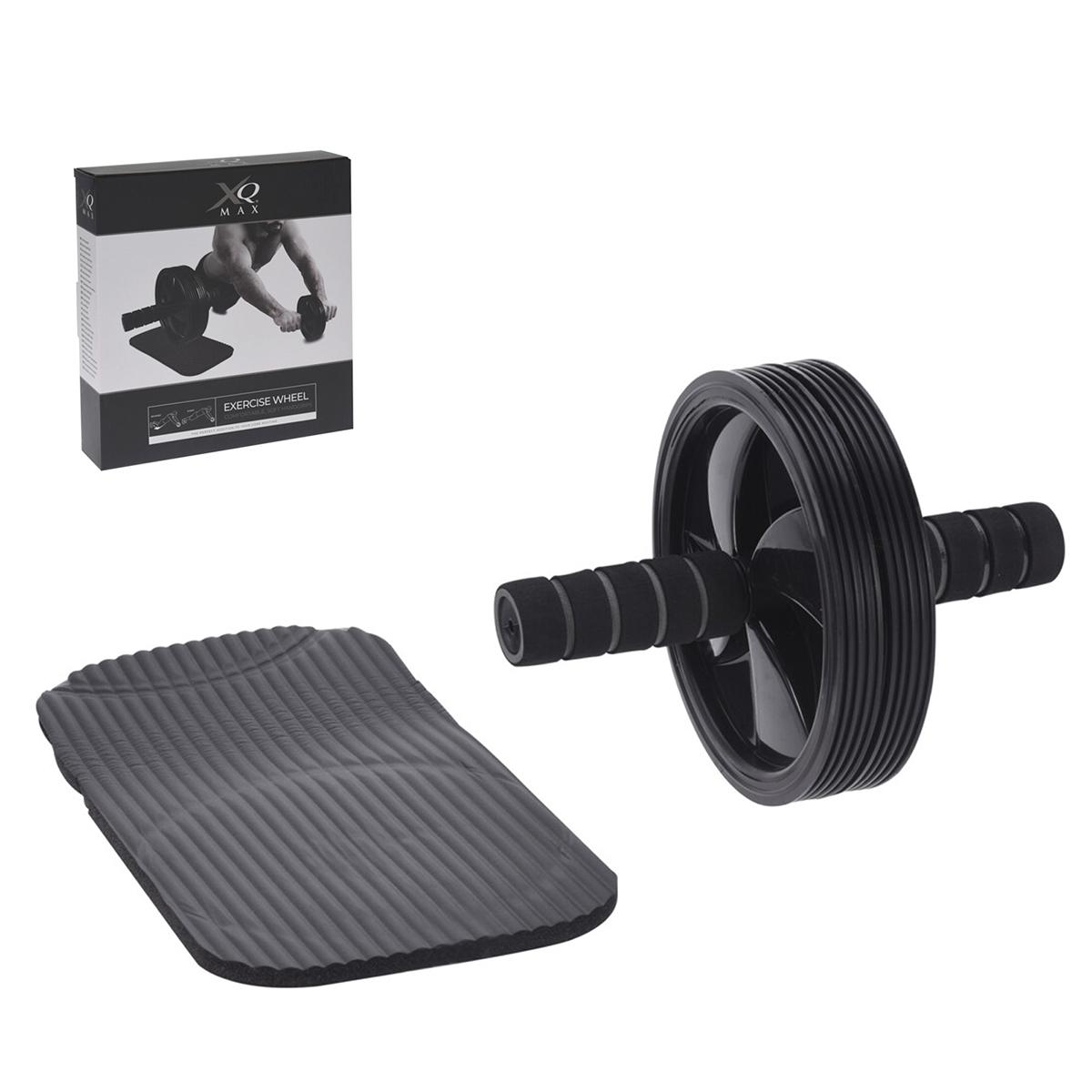 Roue Abdominale Fitness 6 pièces tapis inclus