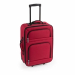 Valise cabine Trolley à roulette rouge