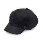 Casquette Femme gavroche en lin 3 couleurs disponible noir