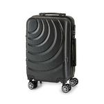 Valise cabine ABS à roulettes en 5 coloris disponible noir