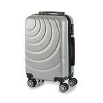 Valise cabine ABS à roulettes en 5 coloris dispoValise cabine ABS à roulettes en 5 coloris disponible grisnible