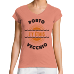 Tee-shirt Slub Femme My Corsican Paradise