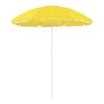 Parasol plage diamètre 150 cm 8 coloris jaune