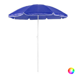 Parasol plage diamètre 150 cm 8 coloris bleu