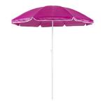 Parasol plage diamètre 150 cm 8 coloris rose