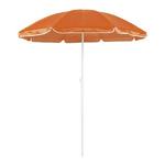 Parasol plage diamètre 150 cm 8 coloris orange