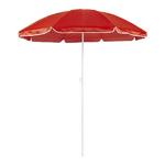 Parasol plage diamètre 150 cm 8 coloris rouge