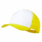 Casquette Mixte 8 coloris FUN jaune