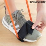 Ceinture fitness avec bandes de résistance pour les fessiers et guide dexercices pieds