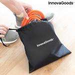 Ceinture fitness avec bandes de résistance pour les fessiers et guide dexercices sac