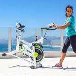 Vélo dappartement statique avec moniteur rythme cardiaque