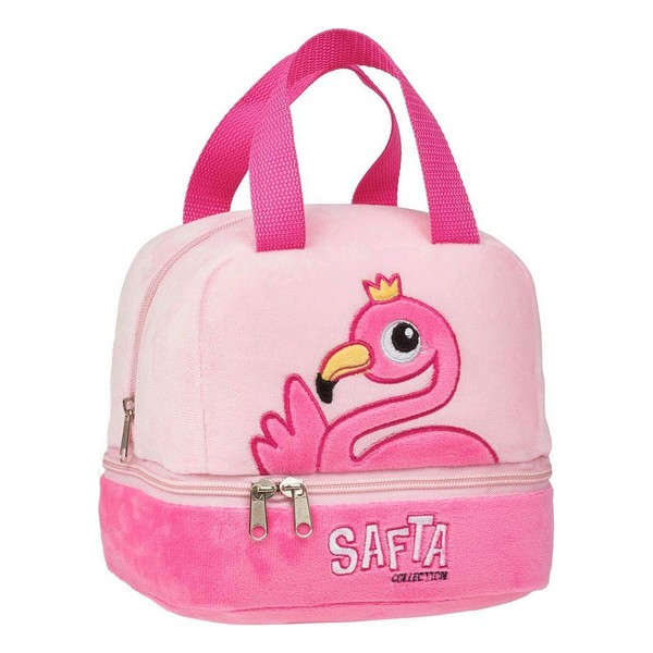 sac lunch flamant rose isotherme Safta