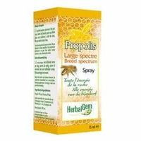 Gemmobase (Herbalgem) - Propolis Large Spectre Spray - 15 ml