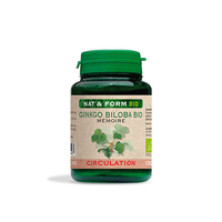 GINKGO BILOBA BIO 120 GELULES ORIGINE MARINE - Nat et Form - Atlantic Nature