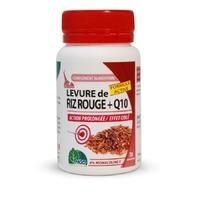 Levure de Riz rouge et coenzyme q10 30 Comprimés à 4% monacoline K