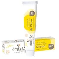 Dentifrice à l'argile blanche et jaune au Citron 75ml