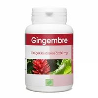 Gingembre racine 100 gelules 300 mg
