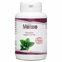 Melisse bio 250 mg - 200 gelules