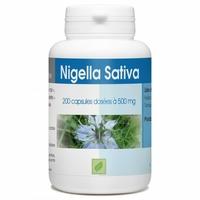 Huile de nigelle 200 capsules 500 mg Nigella sativa / cumin noir