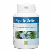 Huile de nigelle 100 capsules 500 mg Nigella sativa / cumin noir