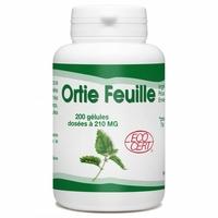 Ortie (feuille) bio 210mg - 200 gelules