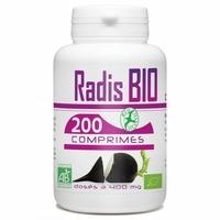 Radis Noir bio 200 comprimes