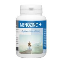 MenoZinc Menopause 60 gélules : Bouffées de chaleurs, irritabilité, troubles de l'humeur