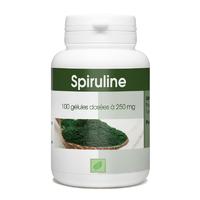 Spiruline - 100 gelules 250 mg